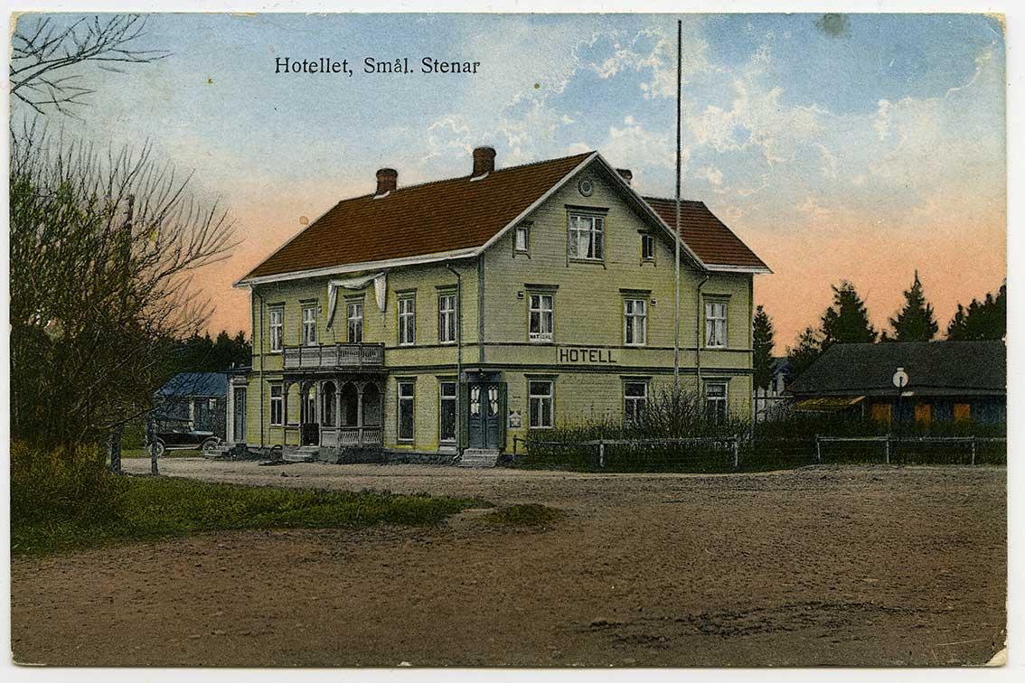 Hotellet i Smålandsstenar (H2 1) vyer nu